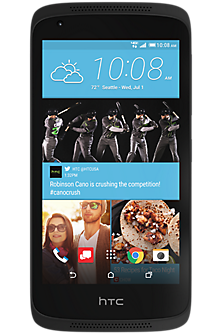 HTC Desire® 526 in Stealth Black