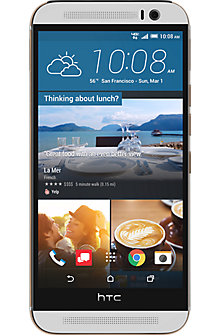 HTC One® M9 in Silver Gold