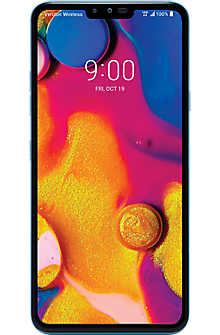 LG V40 ThinQ™ in Moroccan Blue