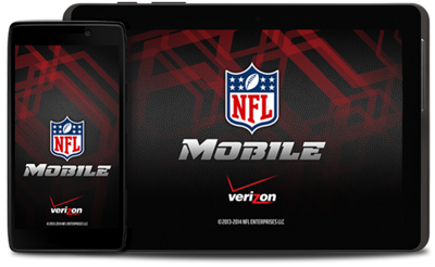 Get NFL Mobile. Only from Verizon.