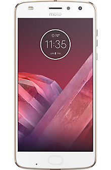 Moto Z2 Play in Fine Gold