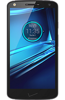 DROID TURBO 2 32GB in Black Soft-Grip