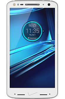 DROID TURBO 2 32GB in Winter White Soft-Grip