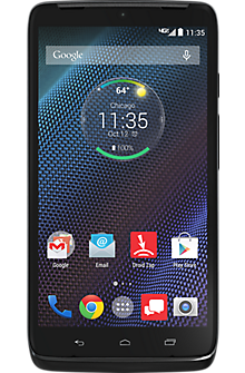 DROID TURBO by Motorola 32GB in Black Ballistic Nylon