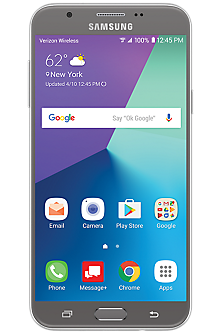 Samsung Galaxy J7 V in Silver