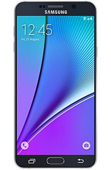 Samsung Galaxy Note5 64GB in Black Sapphire
