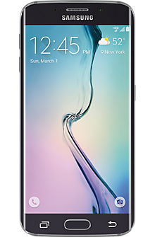 Samsung Galaxy S®6 edge 64GB in Black Sapphire (Certified Pre-Owned)