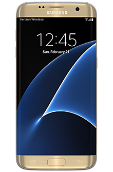 Samsung Galaxy S7 edge 32GB in Gold Platinum (Certified Pre-Owned)