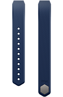 Fitbit Alta Classic Accessory Band, Blue - Large
