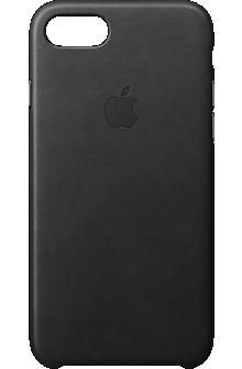 iPhone 7 Leather Case - Black