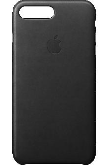 iPhone 7 Plus Leather Case - Black