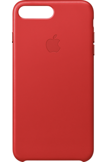 iPhone 7 Plus Leather Case - (PRODUCT)RED