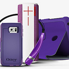 Collection of HopeLine® from Verizon Purple Accessories to Benefit Domestic Violence Prevention Organization