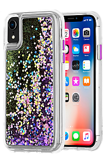 Waterfall Case for iPhone XR - Purple Glow