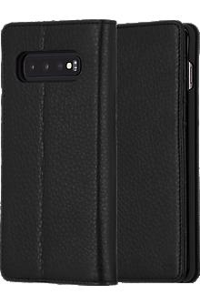 Wallet Folio for Galaxy S10 - Black