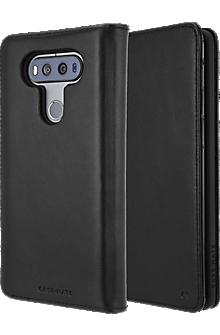 Wallet Folio Case for V20 - Black