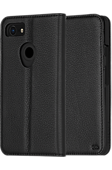 Wallet Folio Case for Pixel 3 XL - Black