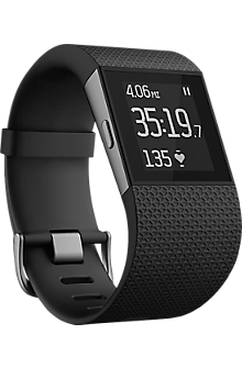 Fitbit Surge Fitness Watch - Black Large