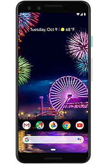 Google Pixel 3 64 GB in Clearly White