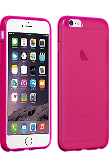 High Gloss Silicone Case for iPhone 6 Plus\/6s Plus - Pink