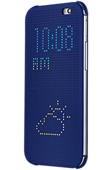 Dot View for the all new HTC One (M8) - Blue