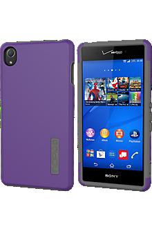 DualPro for Sony Xperia Z3v  - Purple/Gray