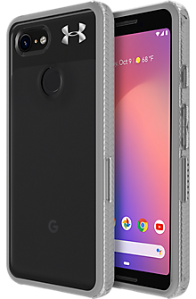UA Protect Verge Case for Pixel 3 - Clear/Graphite/Gunmetal