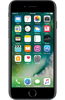 Apple® iPhone® 7 128GB in Black (Certified Pre-Owned - Like New)