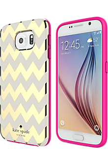 Flexible Hardshell Case for Samsung Galaxy S 6 - Chevron