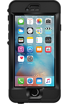 NUUD case for Apple iPhone 6s Plus - Black