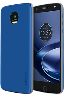 Interchangeable Back Plate for Moto Z Force Droid and Moto Z Droid - Iridescent Nautical Blue