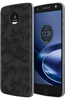 Interchangeable Back Plate for Moto Z Force Droid and Moto Z Droid - Printed Camo Black