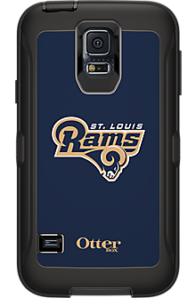 NFL Defender by OtterBox for Samsung Galaxy S5 - St. Louis Rams