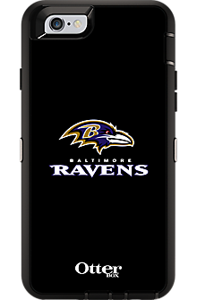NFL Defender Series by OtterBox for iPhone 6/6s - Baltimore Ravens