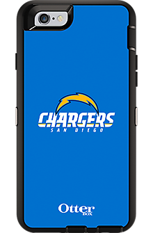 NFL Defender Series by OtterBox for iPhone 6/6s - San Diego Chargers