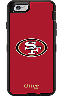 NFL Defender Series by OtterBox for iPhone 6/6s - San Fransisco 49ers