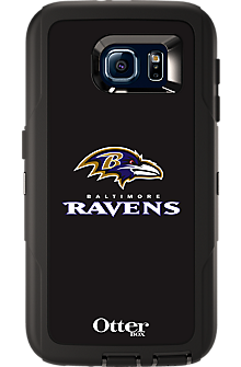 NFL Defender by OtterBox for Samsung Galaxy S 6 - Baltimore Ravens