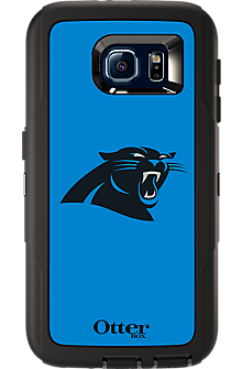 NFL Defender by OtterBox for Samsung Galaxy S 6 - Carolina Panthers