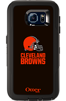 NFL Defender by OtterBox for Samsung Galaxy S 6 - Cleveland Browns