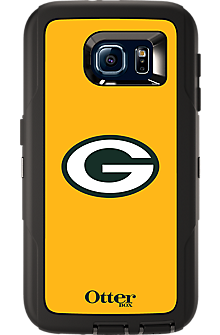 NFL Defender by OtterBox for Samsung Galaxy S 6 - Green Bay Packers