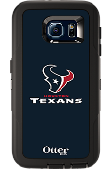 NFL Defender by OtterBox for Samsung Galaxy S 6 - Houston Texans