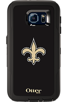 NFL Defender by OtterBox for  Samsung Galaxy S 6 - New Orleans Saints