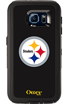 NFL Defender by OtterBox for  Samsung Galaxy S 6 - Pittsburgh Steelers