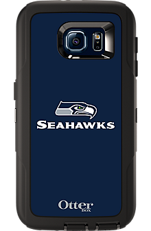 NFL Defender by OtterBox for Samsung Galaxy S 6 - Seattle Seahawks