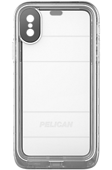 Marine Case for iPhone X - Clear/Clear