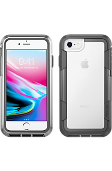Voyager for iPhone 8/7/6s/6 - Clear Grey