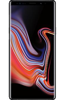 Samsung Galaxy Note9 in Midnight Black