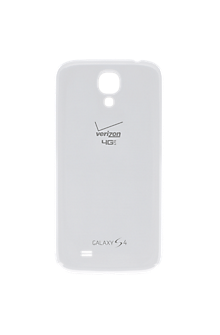 Standard Battery Cover for Samsung Galaxy S 4 - White