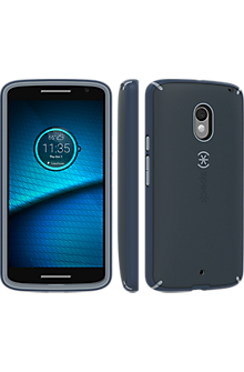 MightyShell for DROID Maxx 2 - Charcoal/Nickel/Shadow