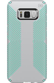 Presidio Grip Case for Galaxy S8+ - Dolphin Grey/Aloe Green